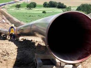 Hochdruckgasleitung