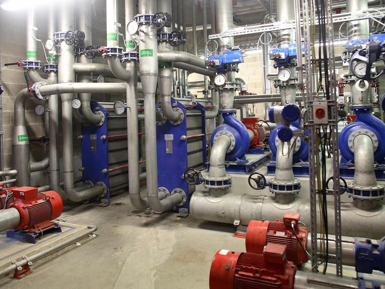 Kühlwasser-Zentrale